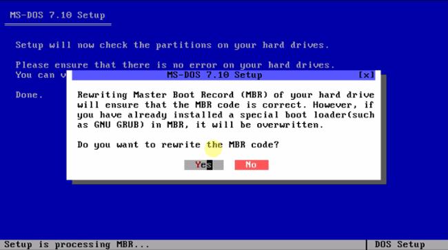 Система ms-dos 7.10 установка.