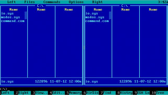 Операционная система ms-dos .