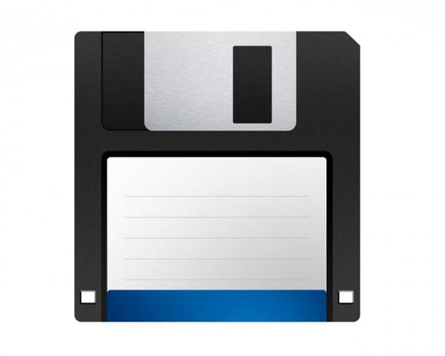 Компьютерная дискета - diskette.