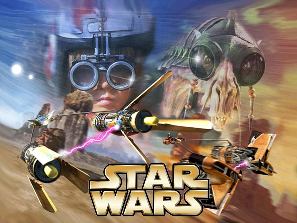 Самые лучшие старые игры - Star Wars Episode 1 Racer.