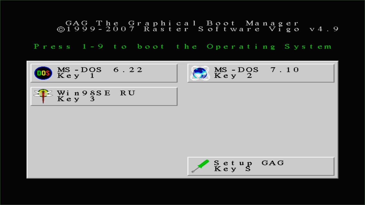 Несколько операционных систем на одном компьютере .