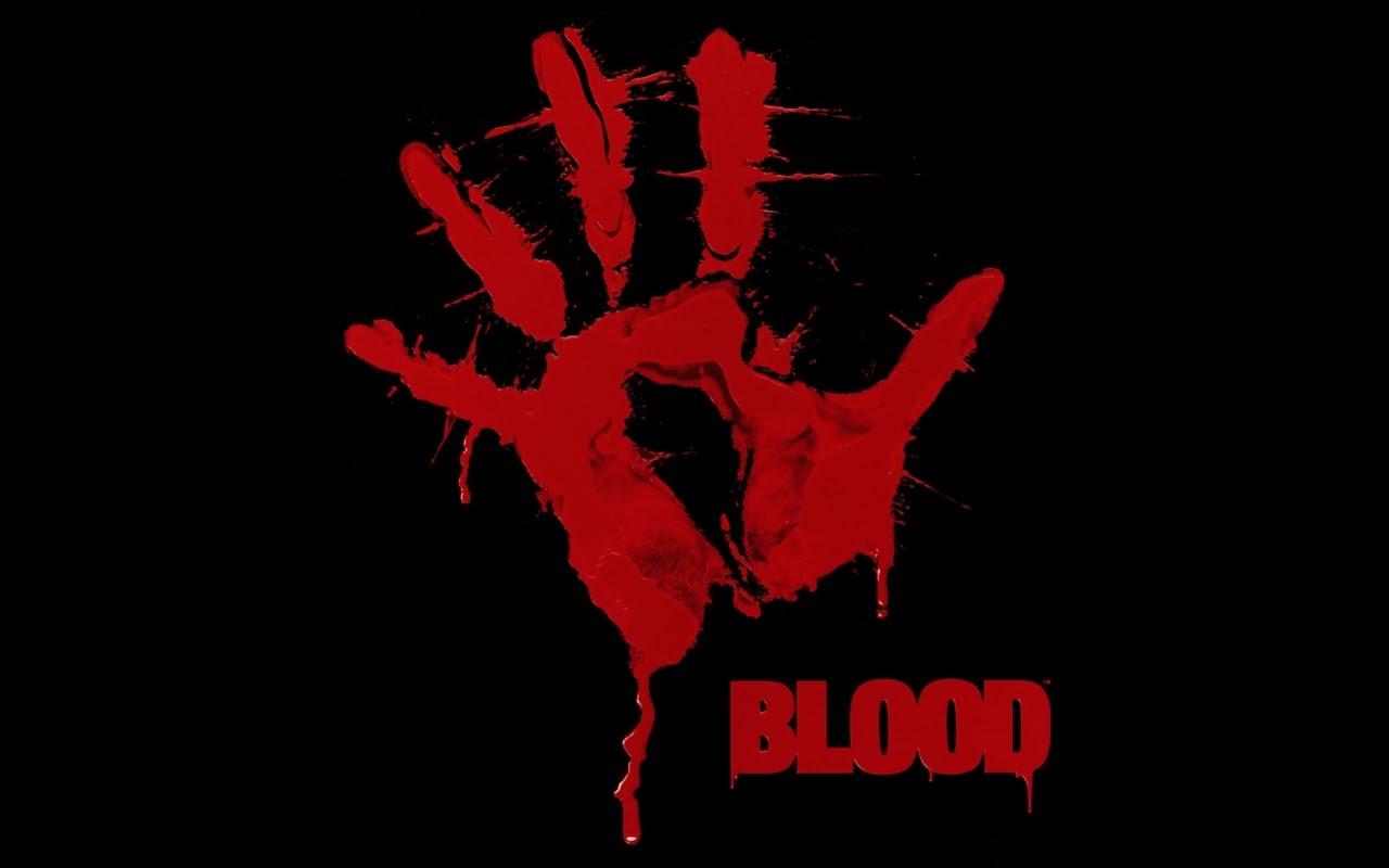 Игра BLOOD -1997 год. MS-DOS 6 .22, видеоускоритель VooDoo фирмы 3dfx.