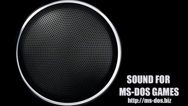 Creative sound blaster live в играх MS DOS