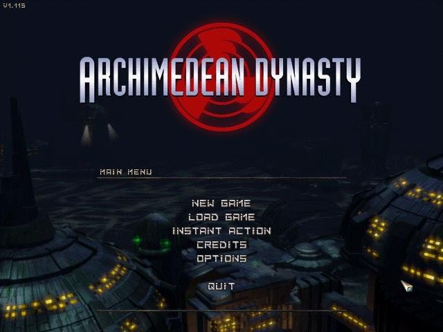 3dfx glide API в игре MS-DOS Archimedean Dynasty 1996 года.