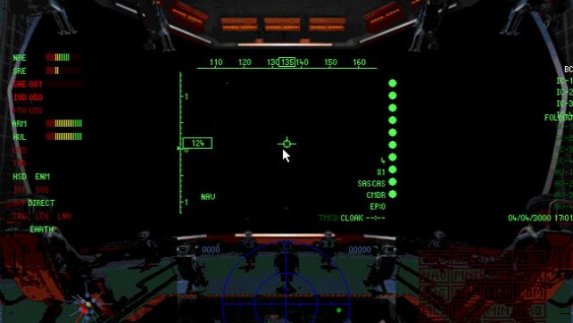 3Dfx игры для MS-DOS - Battlecruiser 3000AD.