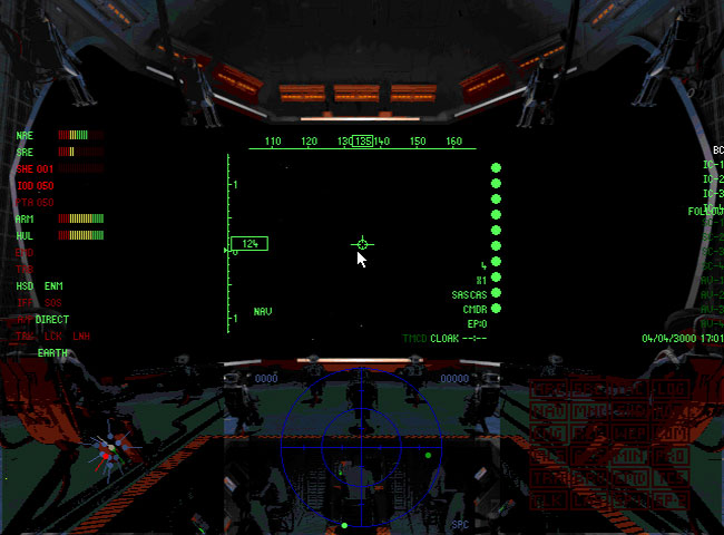 3Dfx игры для MS-DOS - Battlecruiser 3000AD.