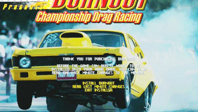 Burnout: Championship Drag Racing 1998 на 3Dfx Voodoo