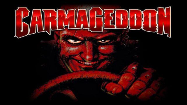 Компьютерная игра Carmageddon с графикой 3dfx.