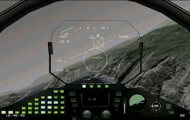 Игра MS-DOS для 3Dfx Eurofighter Typhoon - EF 2000.