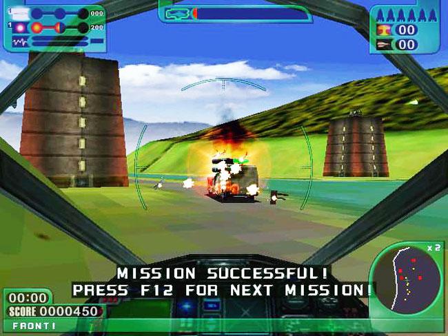 Extreme Assault - MS-DOS игра 1997 года с поодержкой 3Dfx Glide.