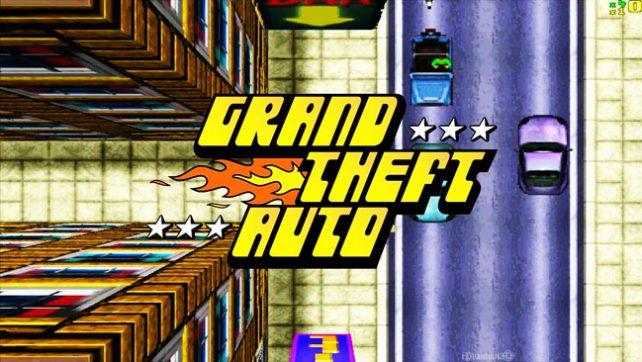GTA - Grand Theft Auto 1997 года.