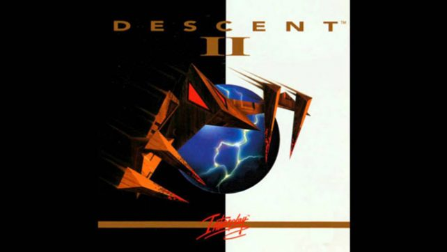 Descent 2 - MS-DOS 3D ускорение 3Dfx Voodoo Glide.