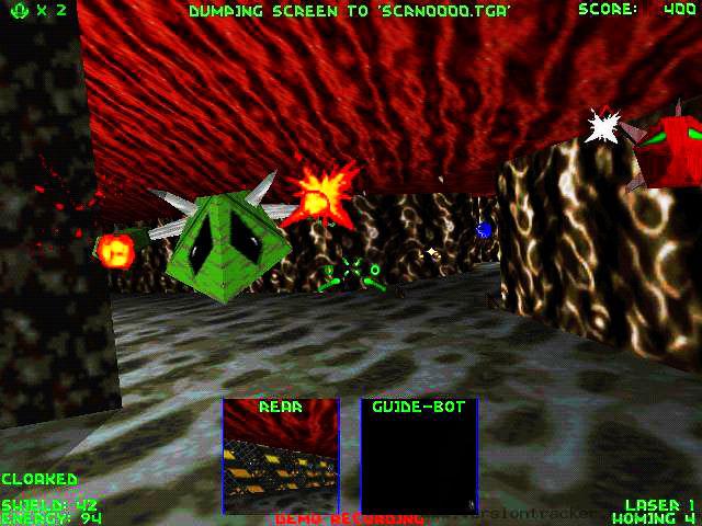Descent 2 1996 год, MS-DOS.