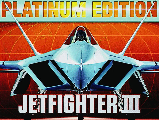 Jetfighter 3 - MS-DOS 3Dfx VooDoo игра 1997 года.