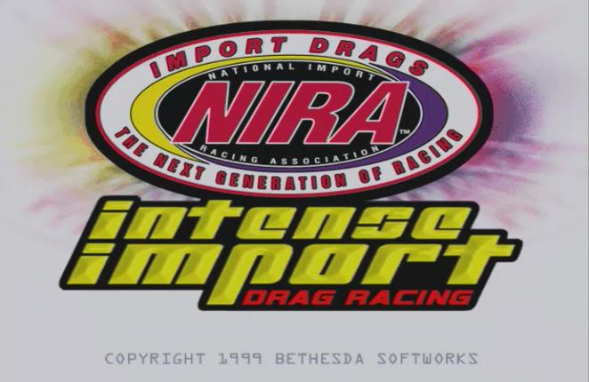 Nira - 3Dfx MS-DOS игра в стиле Drag Racing 1999 года.