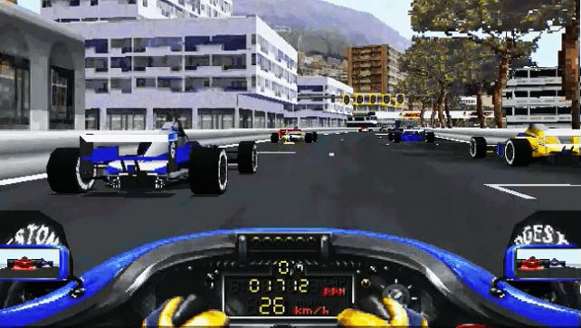 Prost Grand Prix 1998 - ms-dos 3dfx игра.