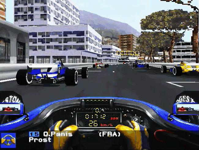Prost Grand Prix 1998 - ms-dos 3dfx игра.