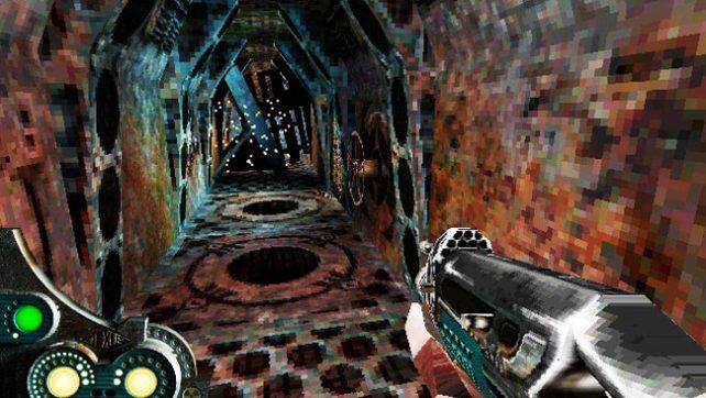 Игра Пыль (Pył) 1999 года - MS-DOS 3Dfx шутер.