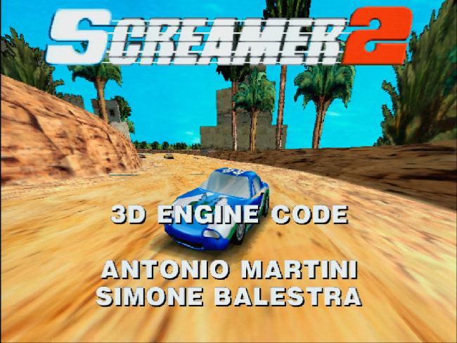 Screamer 2 входит в лучшие гоночные игры MS DOS.