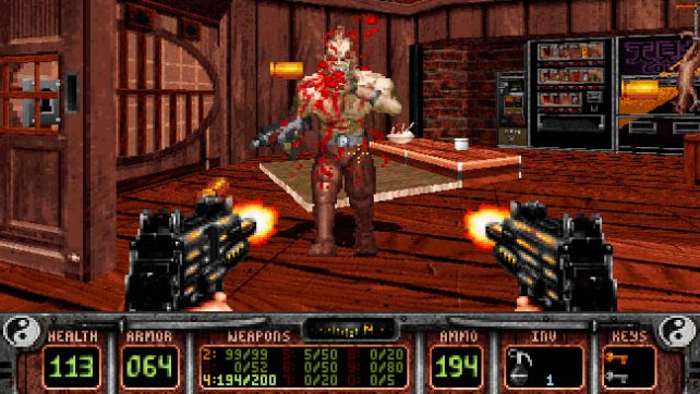 Игра Shadow Warrior 1997 года.