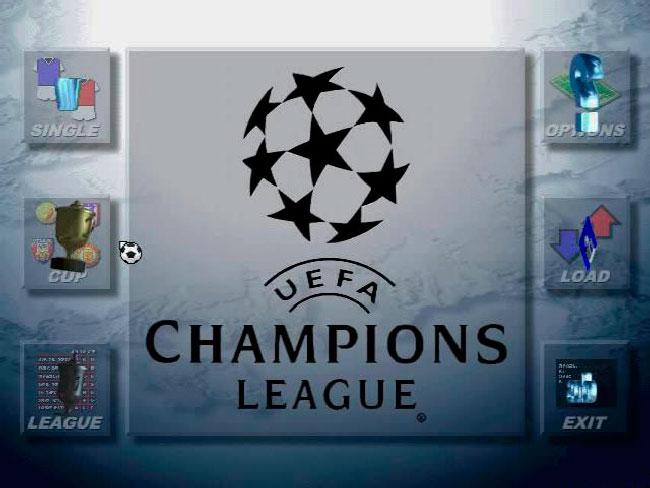 Запуск dos игры UEFA Champions League 1996/97 на 3Dfx Voodoo..