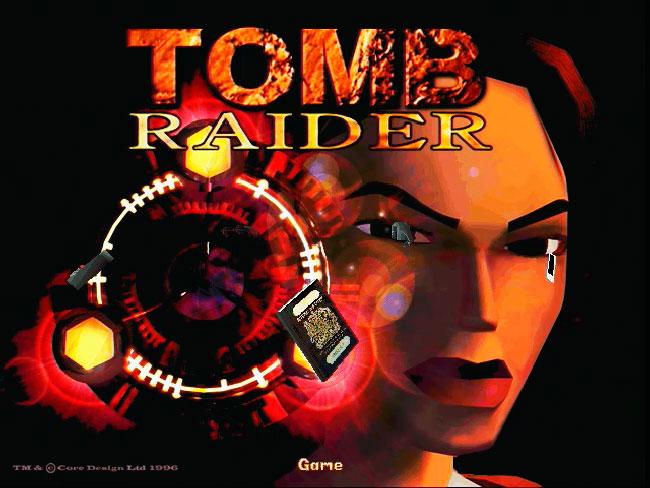 Tomb Raider 1996 года на 3Dfx VooDoo Banshee.