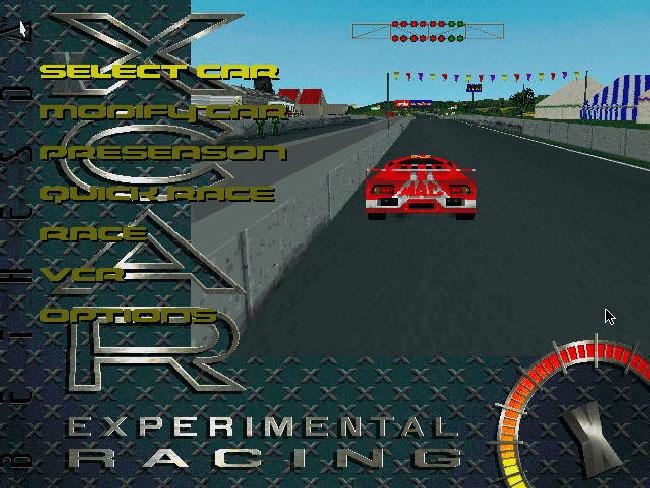 XCar: Experimental Racing - DOS игра 1997 года.