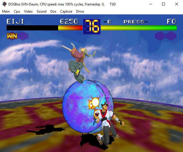 3Dfx glide эмулятор DOSBox SVN Daum.